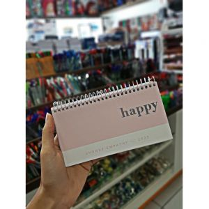 Agenda Espiral Semanal de Bolso Happy M2 Tilibra