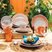 Aparelho de Jantar e Chá 20 Peças Donna Aurora - Oxford/biona