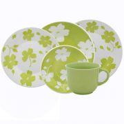 Aparelho de Jantar e Chá 20 Peças Jasmim Primavera - Oxford/biona