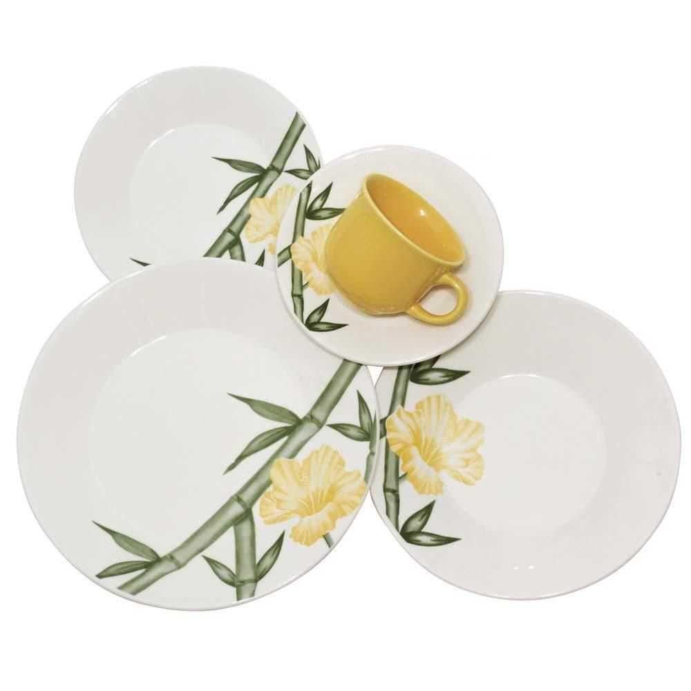 Aparelho de Jantar e Chá 20 Peças Tropical - Oxford/biona