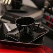 Aparelho de Jantar e Chá 30 Peças Quartier Black - Oxford