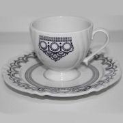 Aparelho de Jantar e Chá 30 Peças Soleil Henna - Oxford