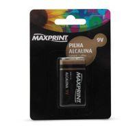 Bateria 9v Alcalina - Maxprint