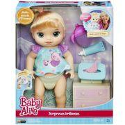 Boneca Baby Alive Fraldinha Magica Loira - Hasbro
