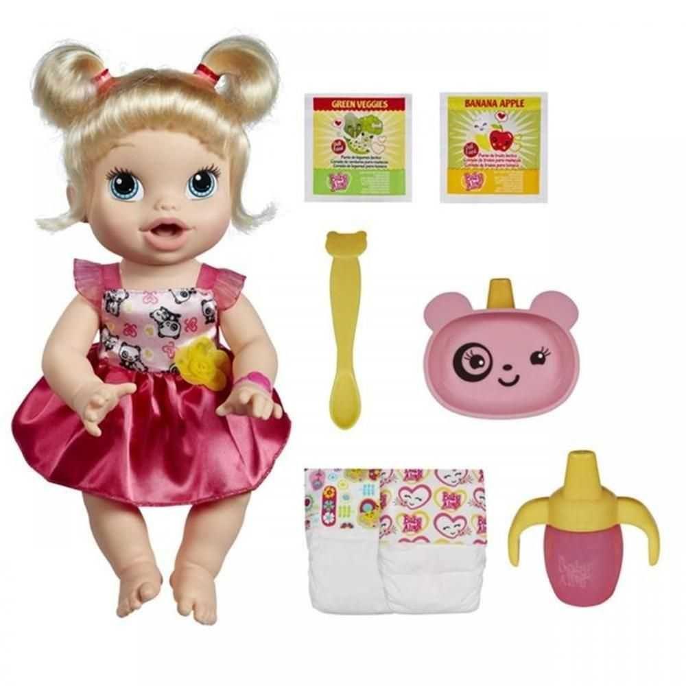 fd6bf1ceac Boneca Baby Alive Hora de Comer Loira - Hasbro na Belas Artes Presentes