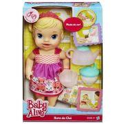 Boneca Baby Alive Hora do Cha Loira - Hasbro