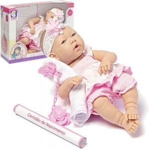 Boneca Baby Ninos Com Chupeta Cotiplás