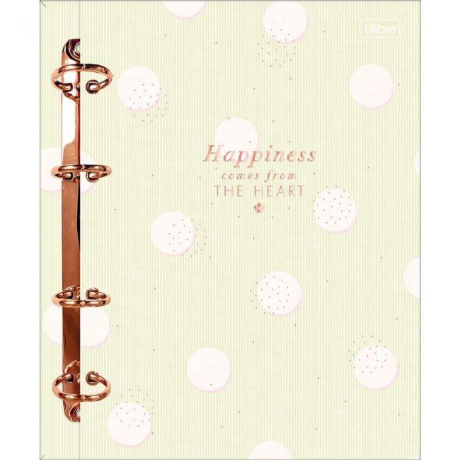 Caderno Argolado Colegial Cartonado Soho 80 Folhas Tilibra