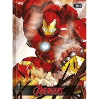 Caderno Brochura Capa Dura Universitário Top 48 Fls Avengers Assemble Capa 02 - Tilibra