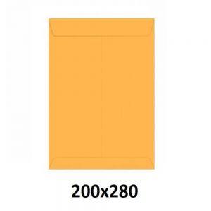 Envelope Saco Ouro 200x280