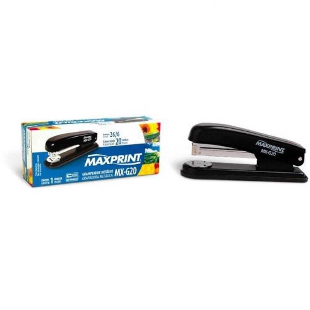 Grampeador Metal Mx-g20 Maxprint
