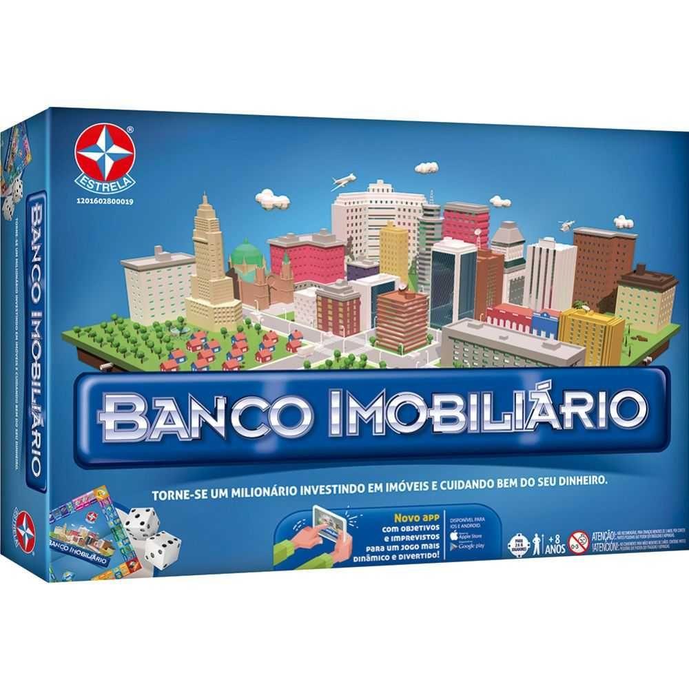 Jogo Banco Imobiliário Tradicional Estrela