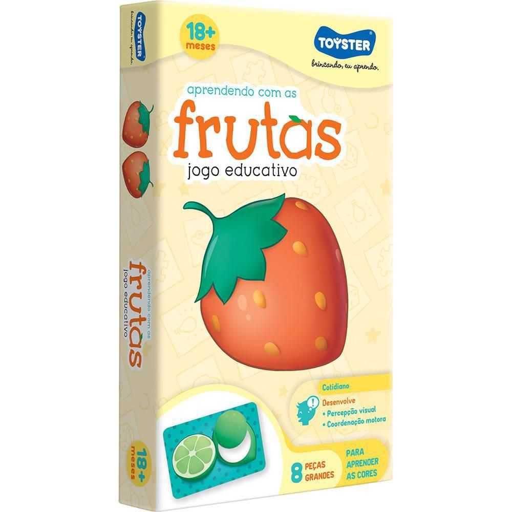 Jogo Educativo Aprendendo Com As Frutas- Toyster