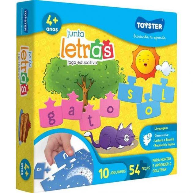 Jogo Educativo Junta Letras - Toyster