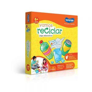 Jogo Educativo Vamos Reciclar - Toyster