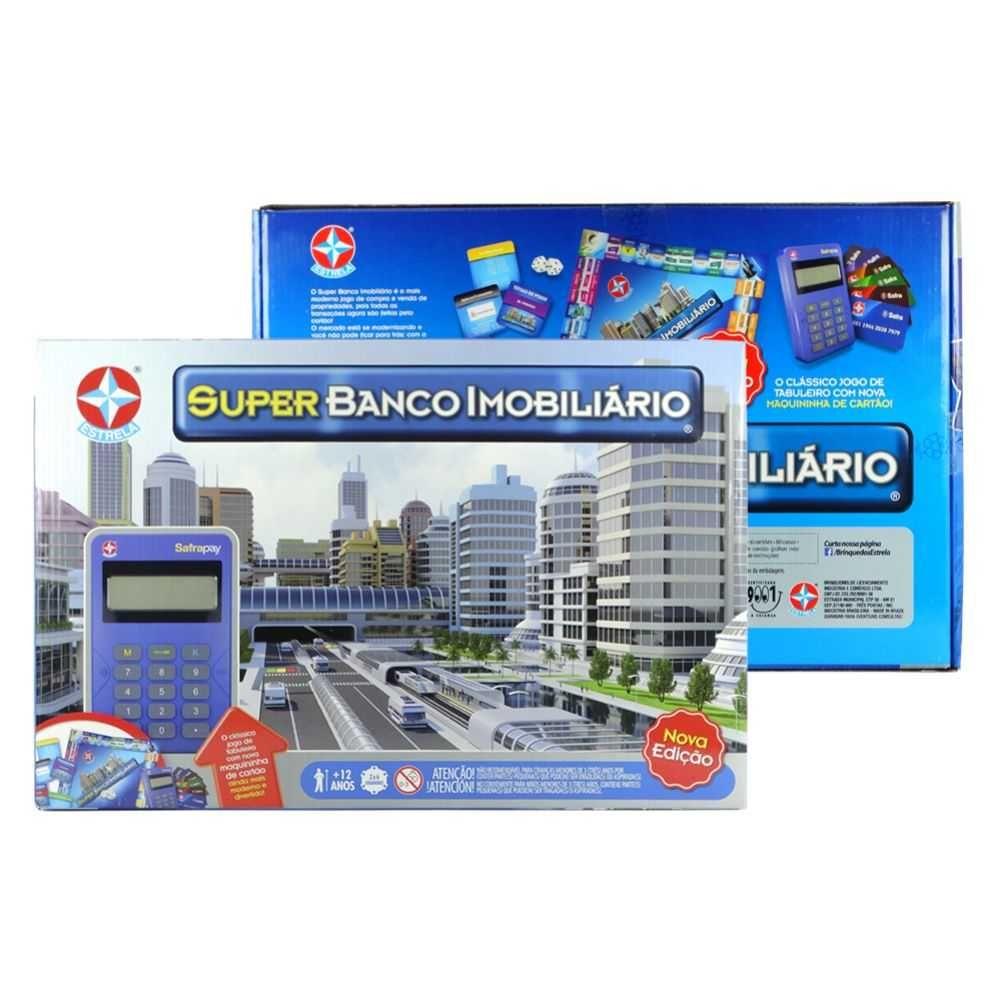 Jogo Super Banco Imobiliario - Estrela