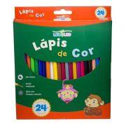 Lápis de Cor Longo 24 Cores - Leo e Leo