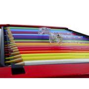 Lápis Aquarela Mondeluz Estojo Com 72 Cores Ref.3714 Koh-i-noor