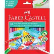 Lápis de Cor 48 Cores Longo Aquarelável - Faber-castell