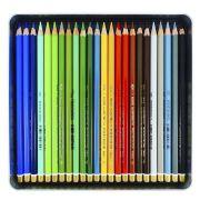 Lápis de Cor Artístico Polycolor Estojo Com 48 Cores