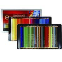 Lápis de Cor Artístico Polycolor Estojo Com 72 Cores