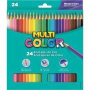 Lápis de Cor Longo 24 Multicolor Super Faber-castall