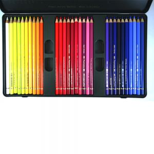 Lápis de Cor Polychromos Estojo Com 60 Cores Ref.110060 Faber Castell
