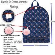 Mochila de Costas Academie Flamingo - Tilibra