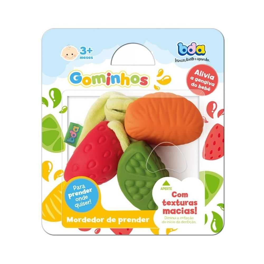 Mordedor Gominhos Frutas Bda - Toyster
