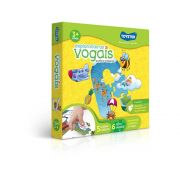 Quebra Cabeça 100 Peças Explorando As Vogais - Toyster