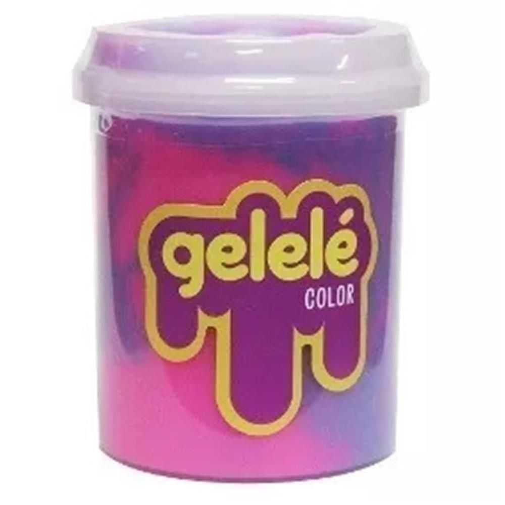 Slaime Gelelé Pote 152g Color (unidade)- Doce Brinquedos