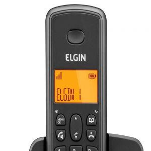 Telefone Sem Fio Com Id de Chamadas + 1 Ramal Tsf 8002 - Elgin