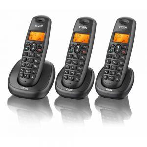 Telefone Sem Fio Tsf 7003 Com Identificador +2 Ramal - Elgin