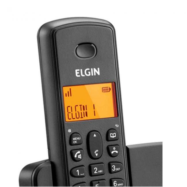 Telefone Sem Fio - Tsf800se C/id e Secretária - Elgin