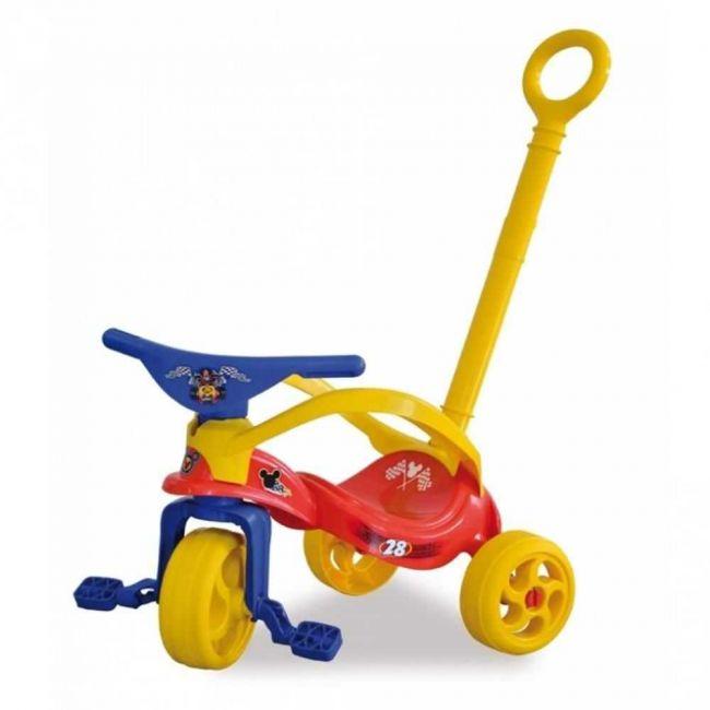 Triciclo Infantil Mickey Haste Removível - Xalingo