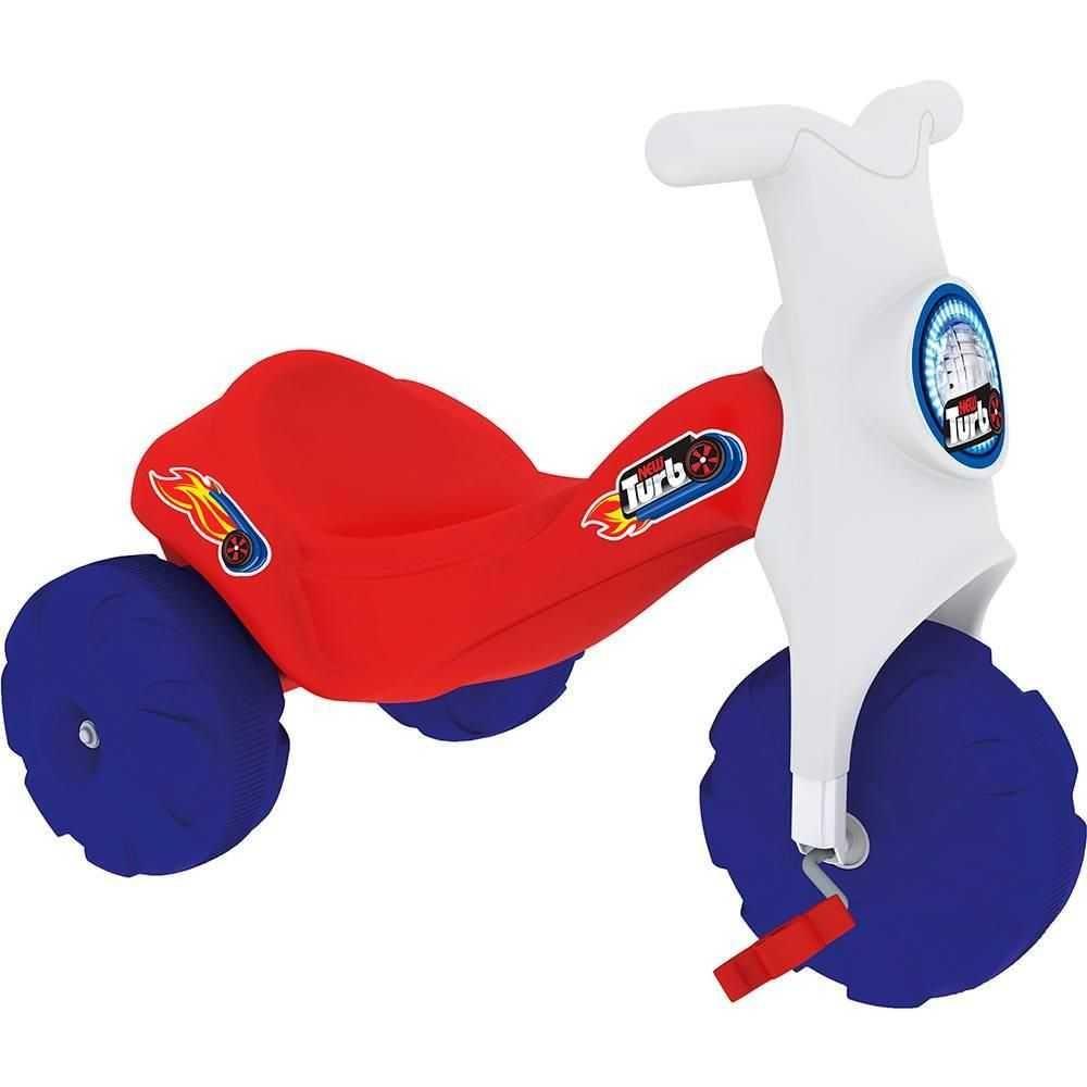 Triciclo New Turbo Vermelho - Xalingo