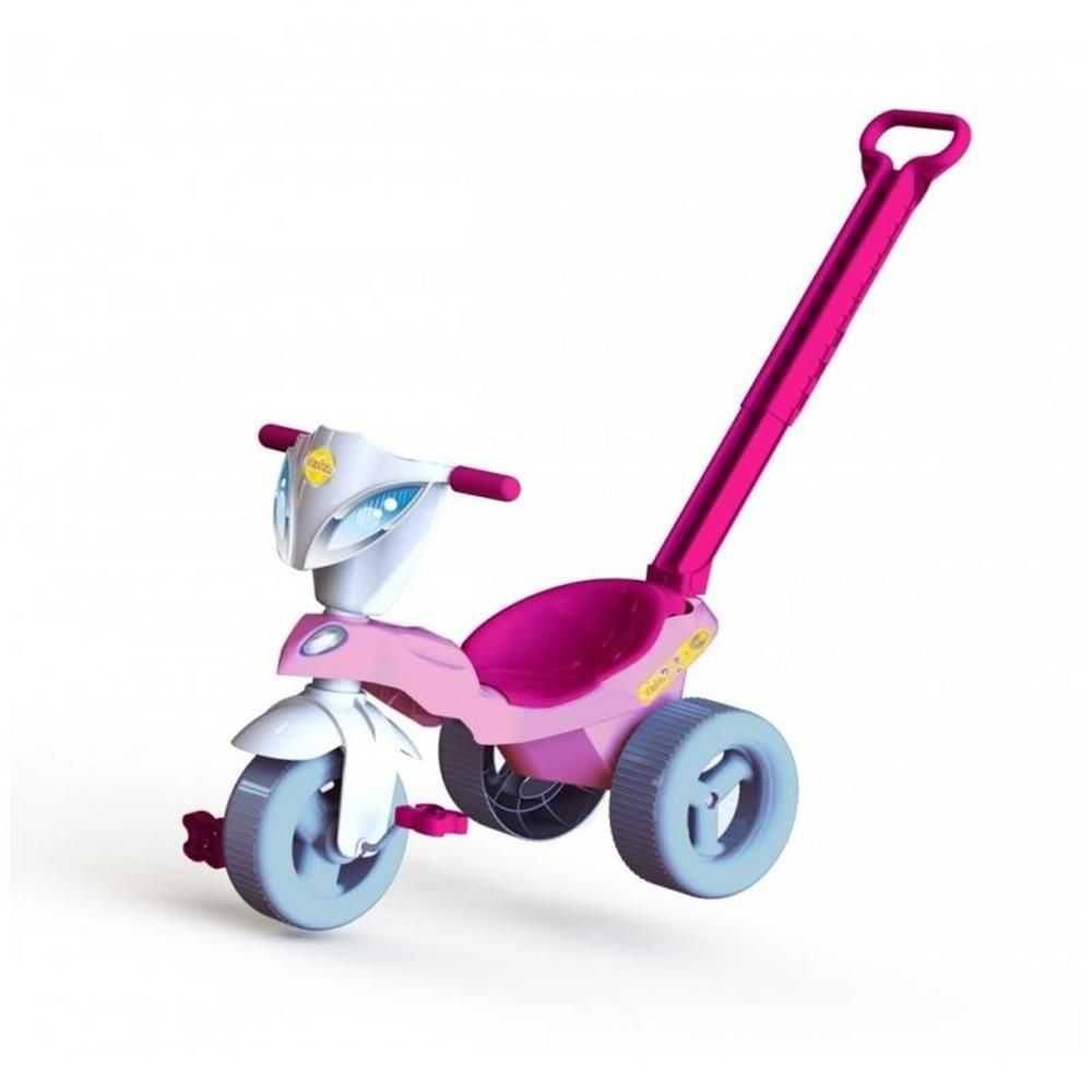 Triciclo Pepita Com Empurrador - Xalingo
